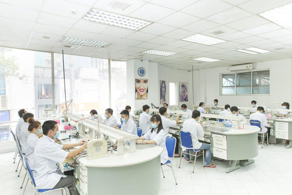 Phòng labo ngay tại Nha Khoa No.1 sản xuất các khay niềng cao cấp đạt tiêu chuẩn quốc tế